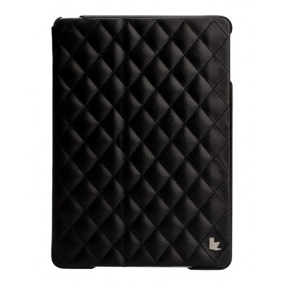 Стеганый чехол-книжка Jison Case Quilted Leather Smart Case для iPad Air - черный