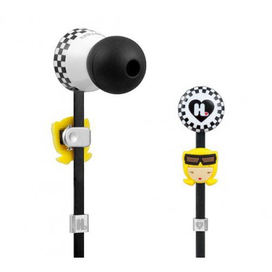 Детские вкладные наушники Monster Harajuku Lovers Wicked Style In-Ear