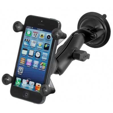 Автодержатель на стекло RAM Mounts X-Grip Locking Suction Cup для iPhone