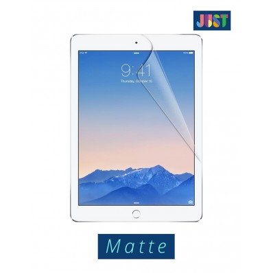 Защитная пленка JUST Matte Screen Protector на экран iPad Air и iPad Air 2 - матовая