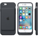 Чехол-батарея Apple Smart Battery Case для iPhone 6 / iPhone 6S - тёмно-серая (1877 мАч) — фото 4
