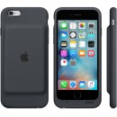 Чехол-батарея Apple Smart Battery Case для iPhone 6 / iPhone 6S - тёмно-серая (1877 мАч) — фото 5