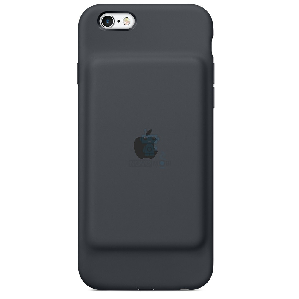 Чехол-батарея Apple Smart Battery Case для iPhone 6 / iPhone 6S - тёмно-серая (1877 мАч) — фото 6