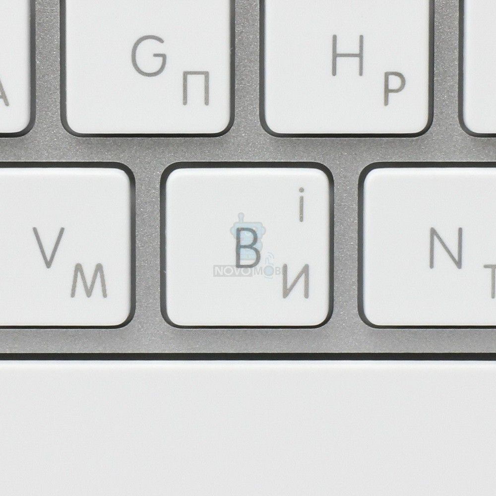 Расширенная проводная клавиатура Apple Wired Keyboard + Numeric Keypad (Раскладка - US, гравировка - RU / UA) — фото 6
