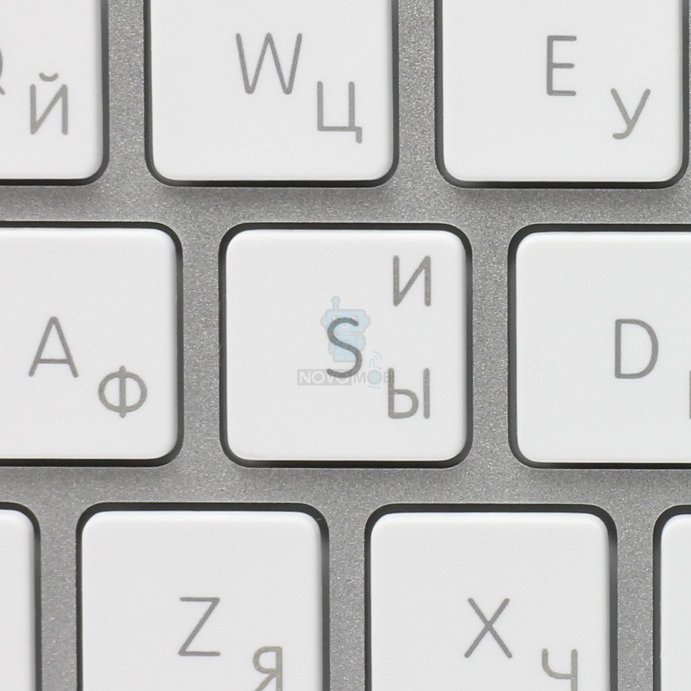 Расширенная проводная клавиатура Apple Wired Keyboard + Numeric Keypad (Раскладка - US, гравировка - RU / UA) — фото 7