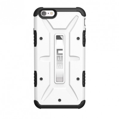 Композитная, защитная накладка Urban Armor Gear - Composite Rugged Case Navigator White для iPhone 6 Plus / 6S Plus - белая матовая