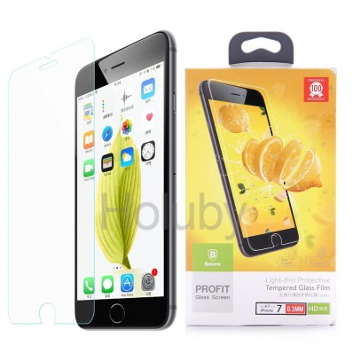 Защитное стекло, Baseus 0.3mm 9H Tempered Glass Screen Protector для iPhone 7