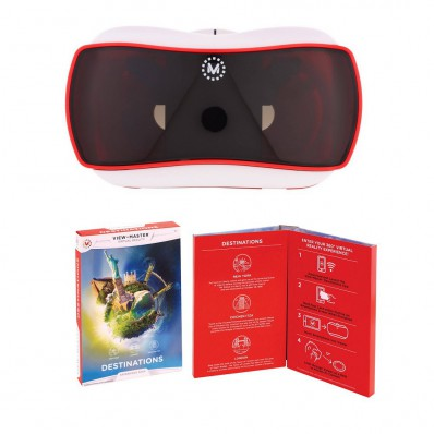 Очки виртуальной реальности, View-Master Virtual Reality Starter Pack + Destinations Pack