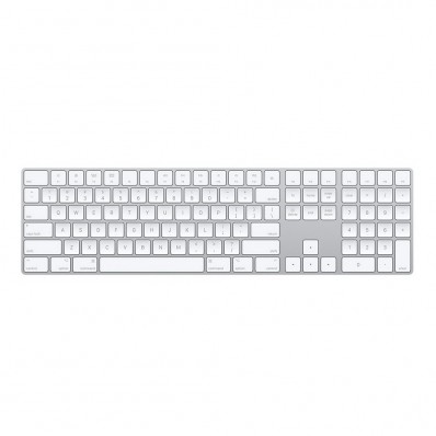 Расширенная беспроводная клавиатура Apple Magic Keyboard with Numeric Keypad (Раскладка - US, гравировка - RU / UA), в оригинальной упаковке