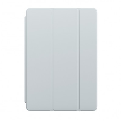 "Полиуретановая обложка Apple Smart Cover Mist Blue для iPad Pro 10.5"" / iPad Air 3 / iPad (2019) - дымчато-голубая"
