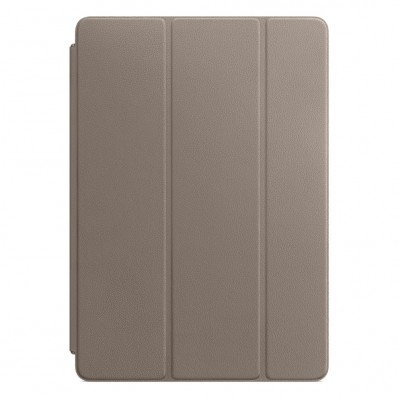 "Обложка из натуральной кожи, Apple Leather Smart Cover Taupe для iPad Pro 10.5"" / iPad Air 3 / iPad (2019) - платиново-серая"