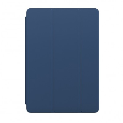 "Полиуретановая обложка Apple Smart Cover Blue Cobalt для iPad Pro 10.5"" / iPad Air 3 / iPad (2019) - цвет «тёмный кобальт»"