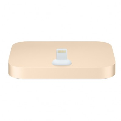 "Уценка! Оригинальная Док-станция Apple iPhone Lightning Dock ""Gold"" - золотая"