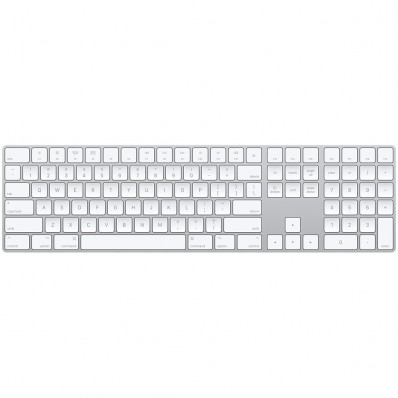 Расширенная беспроводная клавиатура Apple Magic Keyboard with Numeric Keypad, без картонной упаковки (Раскладка - US, гравировка - RU / UA)