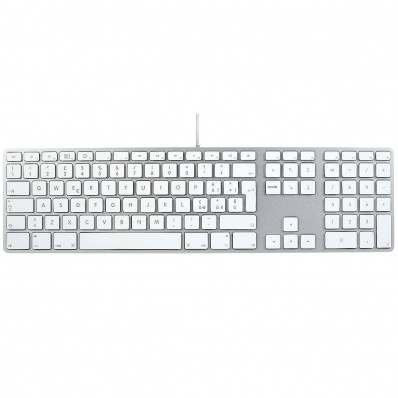 Расширенная проводная клавиатура Apple Wired Keyboard + Numeric Keypad, без картонной упаковки (Раскладка - IT / RU)