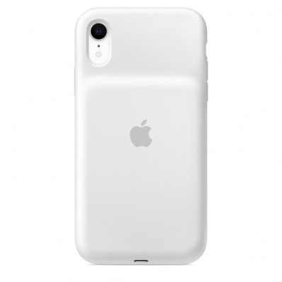 Чехол-батарея Apple Smart Battery Case White для iPhone XR - белая