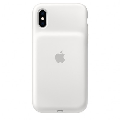 Чехол-батарея Apple Smart Battery Case White для iPhone XS - белая