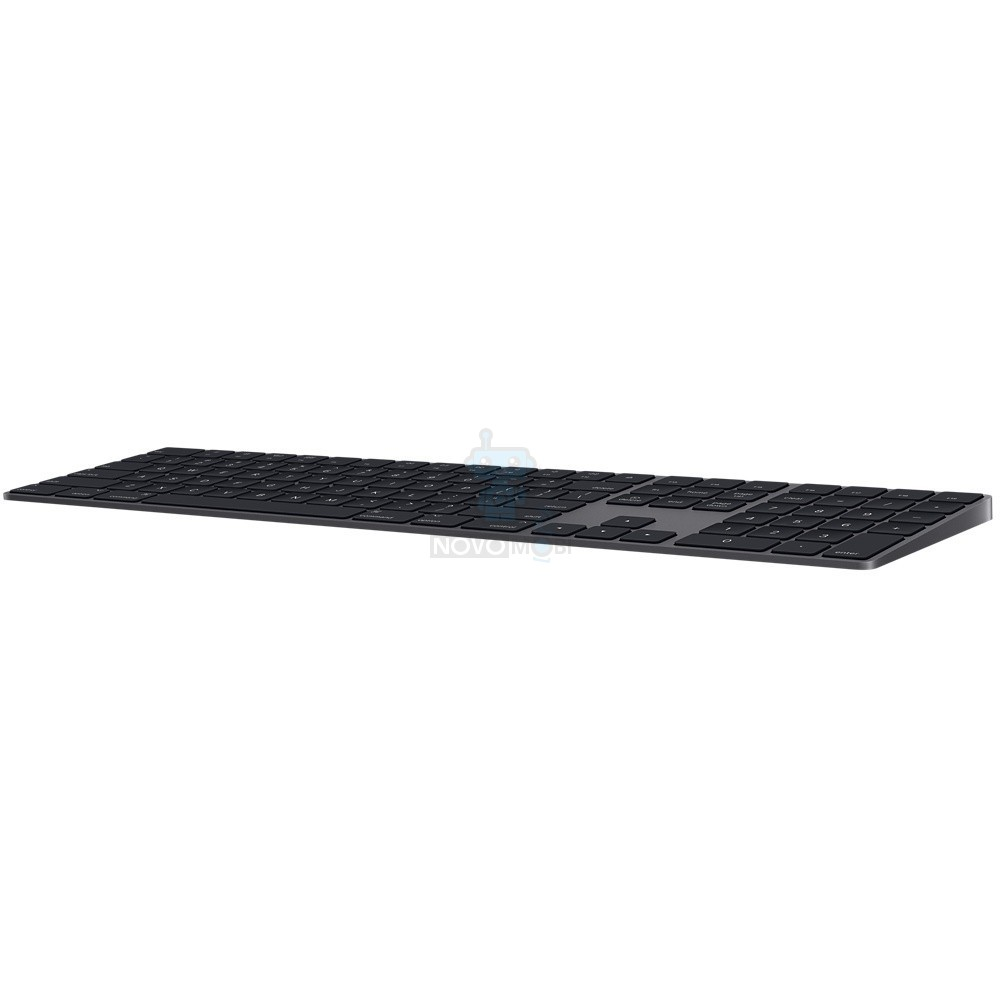 "Расширенная беспроводная клавиатура Apple Magic Keyboard with Numeric Keypad ""Space Gray"", без картонной упаковки (Раскладка - US, гравировка - RU / UA) - цвет «Серый космос» — фото 6"