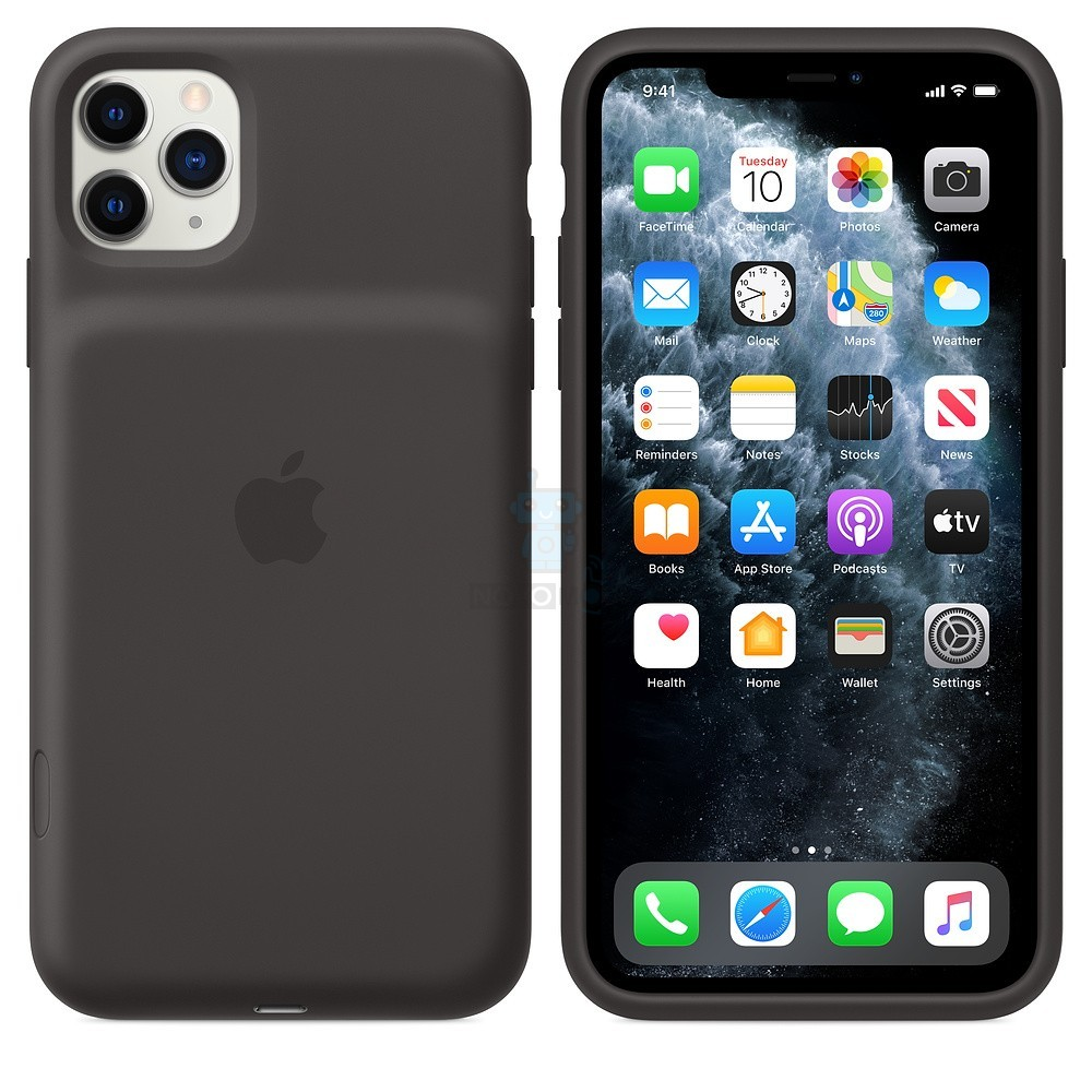 Чехол-батарея Apple Smart Battery Case Black для iPhone 11 Pro Max - чёрная — фото 7
