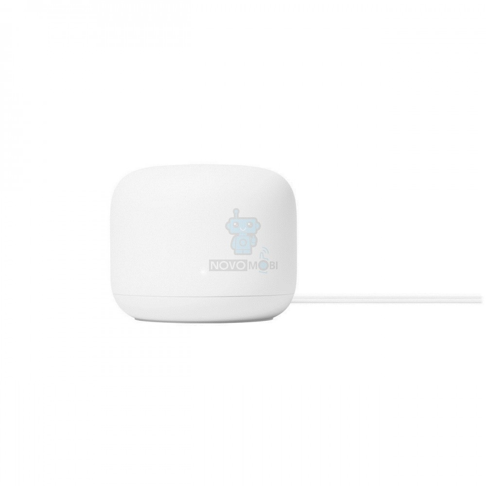 Роутер Google Nest WiFi Router Snow - белый — фото 5