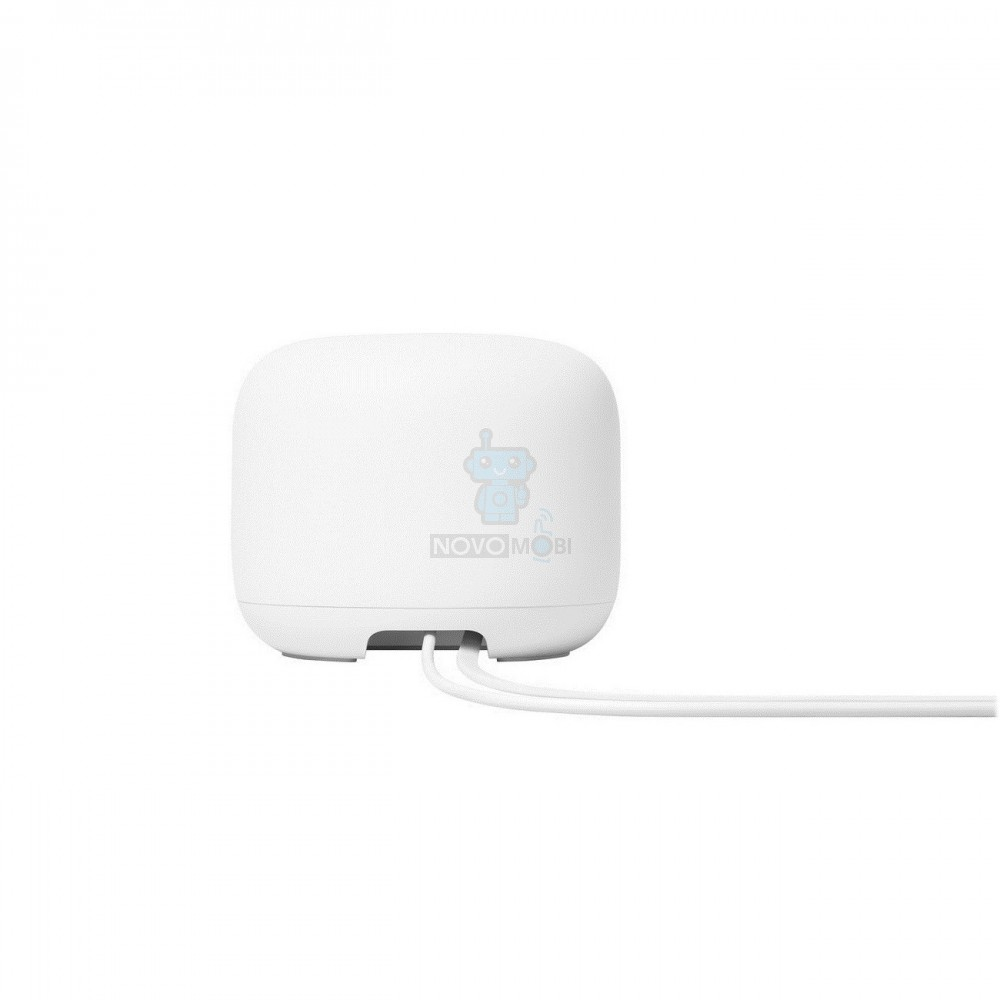 Роутер Google Nest WiFi Router Snow - белый — фото 6