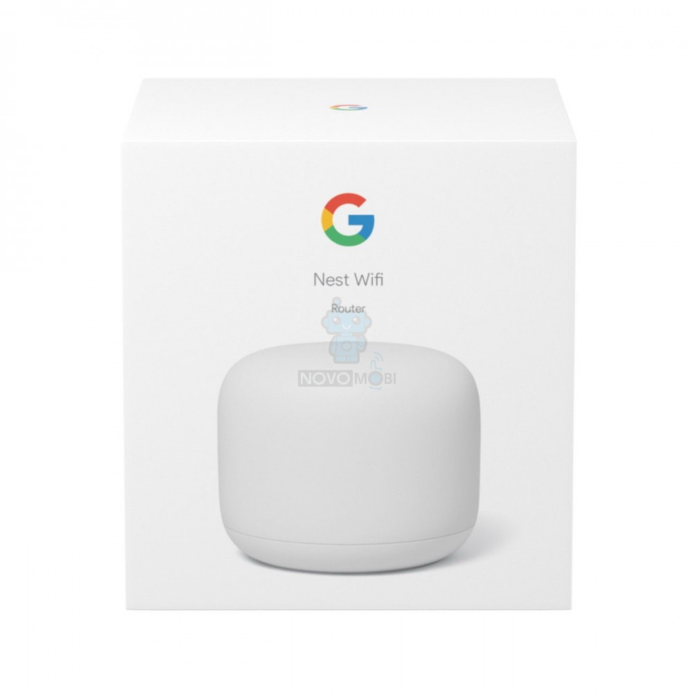 Роутер Google Nest WiFi Router Snow - белый — фото 8