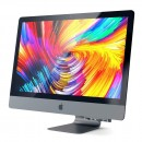 Хаб / Картридер для iMac 2017 / iMac Pro с креплением на нижнюю часть воздухоотвода Satechi Aluminum Type-C Clamp Hub Pro Space Gray (SD/ microSD CardReader; USB 3.0x 3; USB-C Transfer) - серый космоc — фото 2